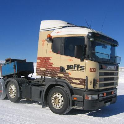 Tekstylne łańcuchy śniegowe AutoSock dla ciężarówek